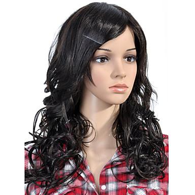 crna Wig Perika za žene Kovrčav Kostim perika cosplay perika