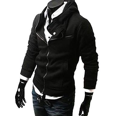 casuais espessamento jaqueta design slim com capuz com zíper inclinado sexy curta