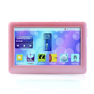 4,3-Zoll-MP4-Player (4GB, pink / schwarz)
