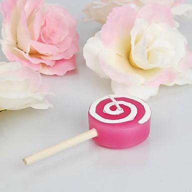 όμορφο λουλούδι κερί-ροζ (σύνολο 4) κομψό γαμήλιες εύνοιες