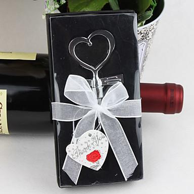 abridor de garrafas em forma de coração