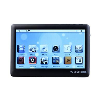 SIGO - 4.3 pollici touch screen lettore multimediale (4gb, 720p, nero / bianco)
