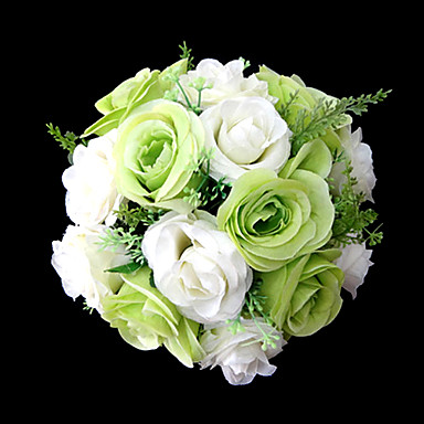 Wedding Flowers Bouquets Wedding Party / Evening Satin 9.84