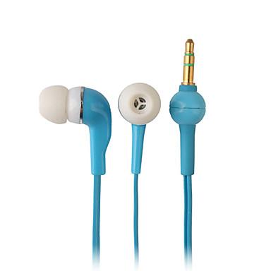 elegant van hoge kwaliteit oordopjes, 1,2 m kabel, 3,5 mm (blauw)