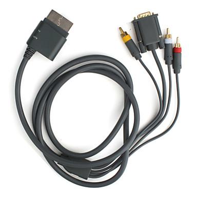 HD VGA AV Cable for Xbox 360