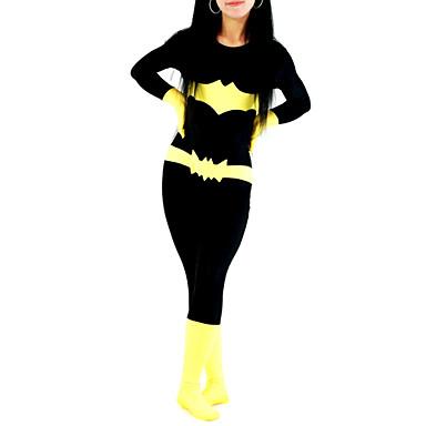 Στολές Zentai Ολόσωμη εφαρμοστή στολή ήρωα Ninja Zentai Στολές Ηρώων Στάμπα Patchwork Φορμάκι / Ολόσωμη φόρμα Zentai Λύκρα Γυναικεία Halloween / Υψηλή Ελαστικότητα