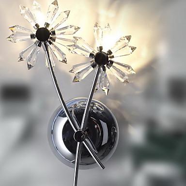 Egypti tuotujen kristalli seinävalaisin 2 valot - kukka varjossa