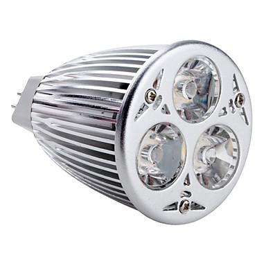 350-450 lm GU5.3(MR16) Spoturi LED MR16 3 led-uri LED Putere Mare Alb Natural DC 12V AC 12V