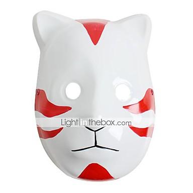 Μάσκα Εμπνευσμένη από Naruto Στολές Ηρώων Anime Αξεσουάρ για Στολές Ηρώων Μάσκα PVC Ανδρικά Γυναικεία καυτό