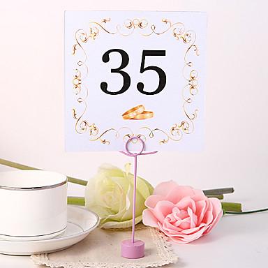 billige Bordkort og holdere-plassere kort og holdere firkantet bord nummer card - ring