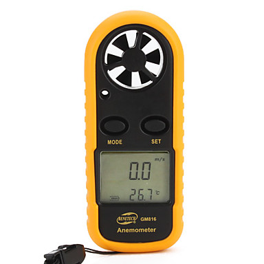 Benetech Gm816 Anemometer 0-30M/S Abs Lcd Display #00291261