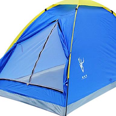 1 Persona Solo Carpa para camping Una Habitación Tienda de Campaña Plegable Rapidez Impermeable Resistente al Viento Resistente a la