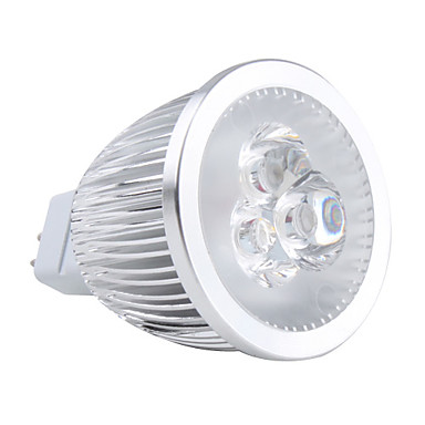 GU5.3(MR16) LED Spotlight MR16 3 High Power LED 450lm Warm White 3000K AC 12V