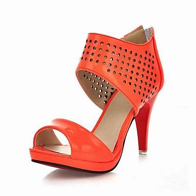 zapatos de plataforma de tacón de aguja sandalias de tacón de la mujer con zapatos de cremallera más colores disponibles