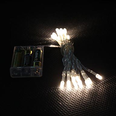 2m Fâșii de Iluminat 20 LED-uri Dip Led Alb Cald