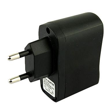 eu βύσμα usb ac dc τροφοδοτικό τοίχου φορτιστής mp3 mp4 dv φορτιστή (μαύρο)