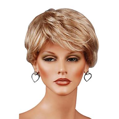 Sentetik Peruklar Klasik Yüksek kalite Kadın's Sentetik Saç Parti Günlük