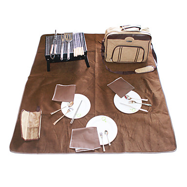 BBQ Picnic Backpack for Three Persons