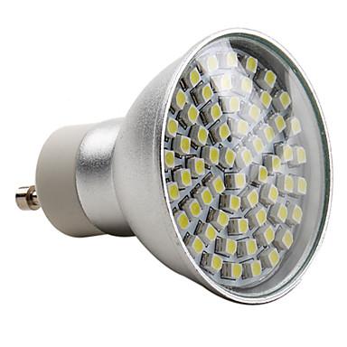 2800lm E14 GU10 LED-kohdevalaisimet MR16 60 LED-helmet SMD 3528 Neutraali valkoinen 220-240V