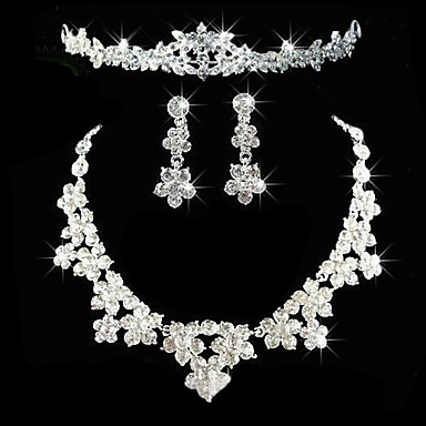 8065c127b Women's Others Jewelry Set Earrings / Necklace / Tiaras - Regular For  Wedding / Party / Anniversary