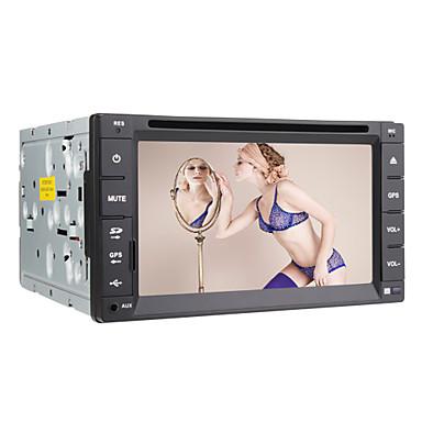 6,2 tuuman digitaalinen kosketusnäyttö 2DIN auto dvd-soitin gps, bluetooth, TV, RDS