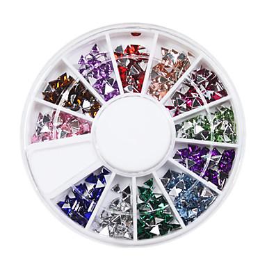600 Nail Art Decoration Rhinestone Pearls Makeup Cosmetic Nail Art Design