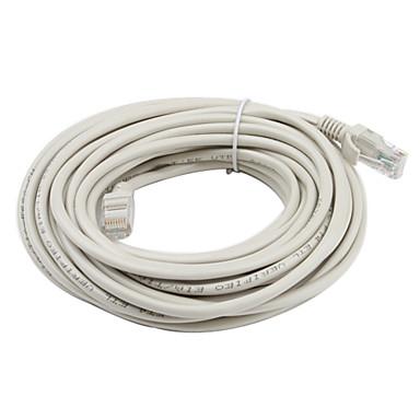 rj45 chat 5 câble réseau Ethernet (10m) de haute qualité, durable