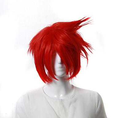 cosplay peruk inspirerad av Uta ingen prins-Otoya ittoki röd