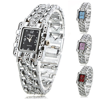 Women's Watch Fashionable Silver Alloy Bracelet Cool Watches Unique Watches Strap Watch