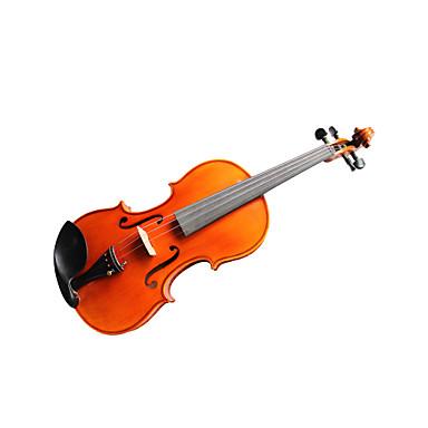 violintine - (v32) 4/4 de qualité professionnelle en épicéa massif et 1-pièce pour violon en érable flammé avec étui / arc
