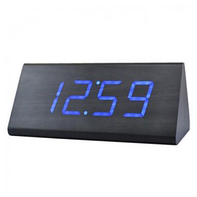 Voice Control LED Prism Led Alarm Clock