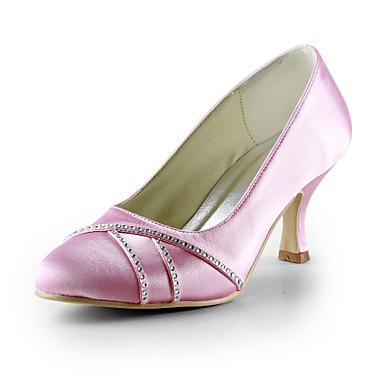 Svart / Blå / Rosa / Rød / Elfenbenshvit / Hvit / Sølv - Bryllup sko - Dame - Hæler - høye hæler - Bryllup
