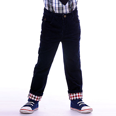 Fashion Boy Cozy Corduroy Pants