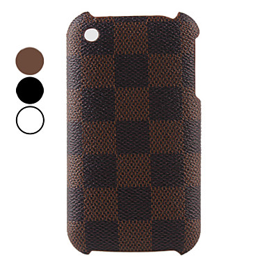 Lattice Pattern Hard Case for iPhone 3G and 3GS (Assorted Color)