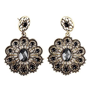 Damen Blume Tropfen-Ohrringe - Ohrringe Für Party