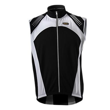 SPAKCT Men's Sleeveless Bike Vest/Gilet Black Red Blue