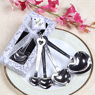 Wedding Bridal Shower Stainless Steel Kitchen Tools Classic Theme
