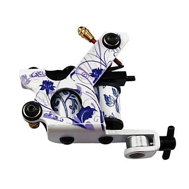 Tatoeage Machine Met Spoelen Professiona Tattoo Machines Gietijzer Lijnen en arcering Stempelen