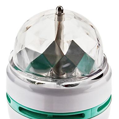 3W E26/E27 Bulb LED Glob 3 LED Putere Mare 270 lm RGB AC 85-265 V