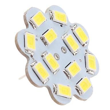 1.5 W 6000 lm G4 Deckenleuchten 12 LED-Perlen SMD 5630 Natürliches Weiß 12 V / #