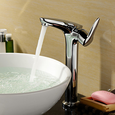 Sprinkle® Sink Faucets  ,  Contemporary  with  Chrome Single Handle One Hole  ,  Feature  for Centerset