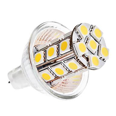 5W GU4(MR11) LED Λάμπες Καλαμπόκι MR11 27 SMD 5050 420 lm Θερμό Λευκό / Ψυχρό Λευκό DC 12 V
