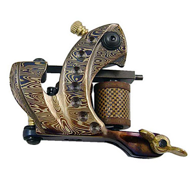 Damascus Steel Tattoo Machine Gun voor lijnvaartconferences