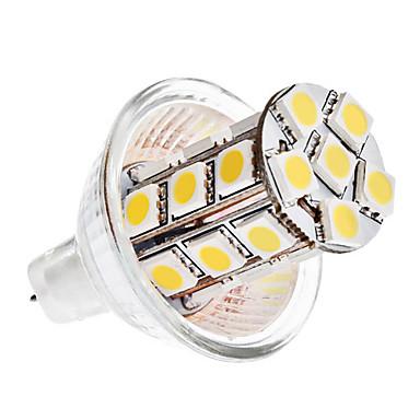 4W GU4(MR11) LED-maissilamput MR11 24 SMD 5050 360 lm Lämmin valkoinen / Kylmä valkoinen DC 12 V