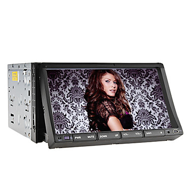 TFT-Bildschirm im Armaturenbrett Auto-DVD-Spieler mit Bluetooth, Navigation-ready GPS, RDS, ISDB-T, iPod-Eingang