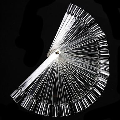 voordelige Nagelgereedschap & Apparatuur-50st Muovi Scherm Voor Vingernagel Other Multi-ontwerp Nagel kunst Manicure pedicure Eenvoudig