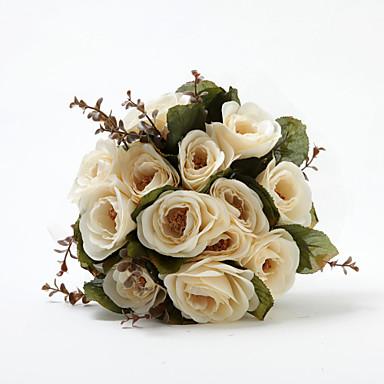 Wedding Flowers Bouquets Wedding Cotton Satin 11.02