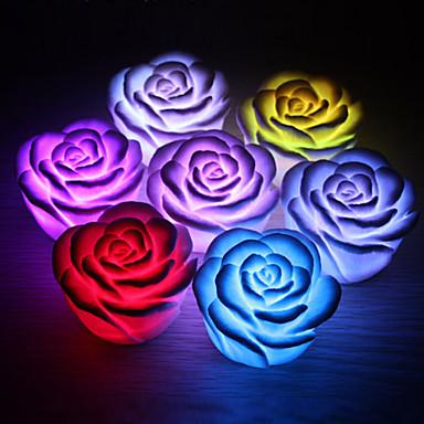 LED noćno svjetlo Baterija plastika 1. Svjetlo Baterije uključene 6.5*6.5*4.0cm