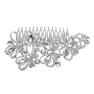 strass alliage cheveux peignes bandeau classique style féminin