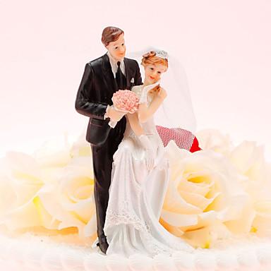 Kuchendeckel glückliche Braut& Bräutigam Kuchendeckel